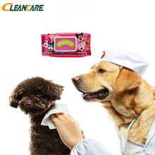 Multi Use Glove Pet Cleaning Wet Wipes For Cat