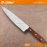 Professional Wood Handle Chef Kitchen Knife