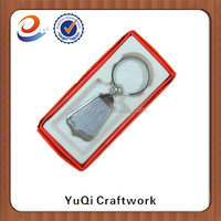 personalized bulk buy keychain with gift box promotion items from china customized boxing keychain