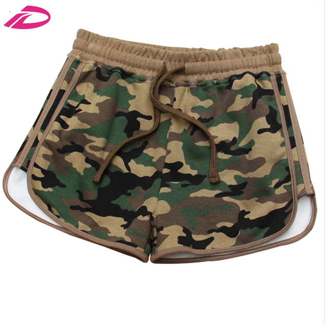 2017 Best Selling Women Camouflage Print Shorts