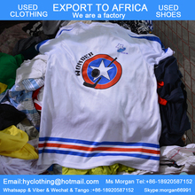 cheap fairly used sports clothes in bales