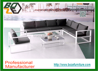 Commercial Outdoor All Weather Aluminium Metal Sofa sets hotel garden furniture