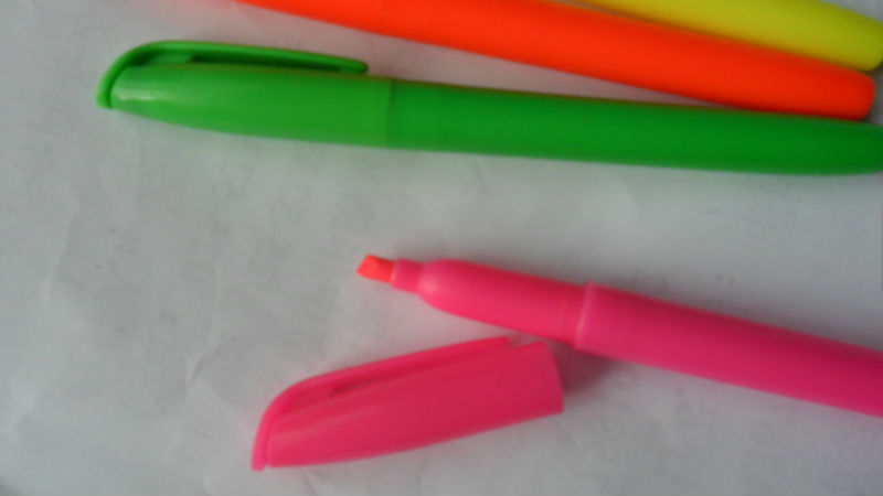 High quality promotional fluorescent pen scented marker Highlighter pen