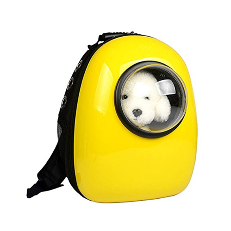 Plastic Deluxe Space Capsule Dog Backpack