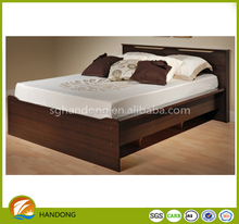 Brand New Modern Design Cheap MDF Kids Bedroom Furniture Double Bed