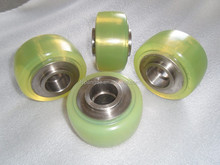 pu urethane rubber cover wheel roller