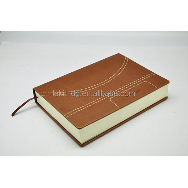 custom vintage hardcover leather notebook