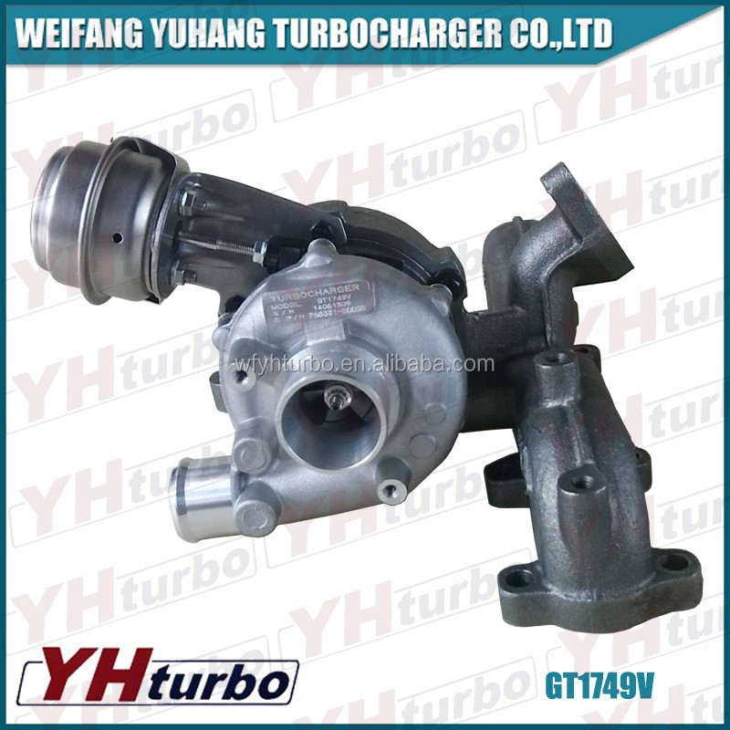 GT1749V/70071855/717858/for Audi A4 1.9 TDI vehicle Turbochargers