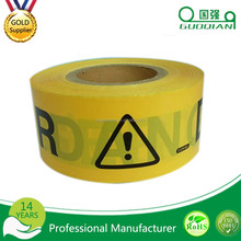 wholesaleCustom Printed Cable Danger Underground Detectable Warning Tape in Low Density Polyethylene