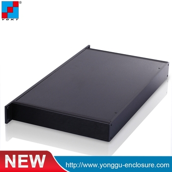 YGH-002--1u 482*44.5mm tation aluminum profile chassis / DIY industrial aluminum chassis / PCB circuit board and aluminum body
