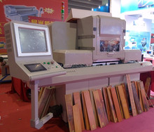 the highest speed wood skirting board printer for sale / the latest wood wasitline printer