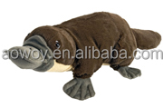 Custom Logo soft Platypus Cuddlekins Plush Toy logo animal toy