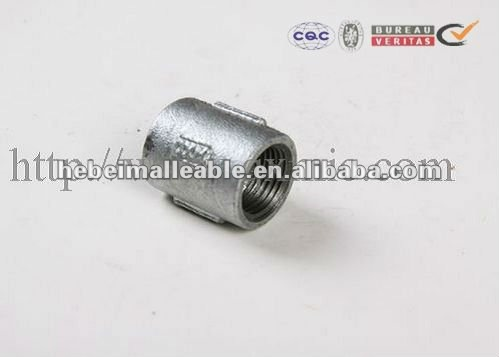 Hot Dipped GI Cast Iron Internal Threaded Socket
