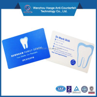 Dental office hour giveaway business card fridge magnet