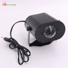 Water Wave Ripple Effect Voice control LED Colorful Light Stage Color box packaging