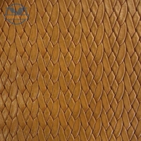 2016 free samples artificial pu embossed leather for shoes usage
