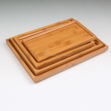 New design environmental protection bamboo antique wood tea serving trays
