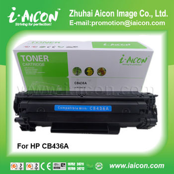 Printer toner cartridge For HP CB436A 36A