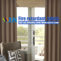 Beautful Flame Retardant New Design Curtain