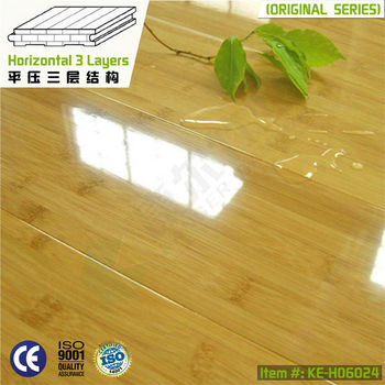 horizontal compressed high gloss import bamboo flooring hot sale 2013