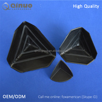 Triangle black or transparent table/ carton plastic corner protectors