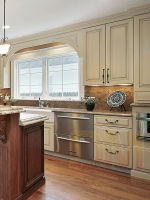 Hot! hardwood woodne design imported kitchen cabinets from china