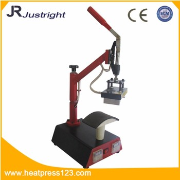manual hand cap press machine shaking head double stations heat Digital T Shirt Printing Machine CE certification
