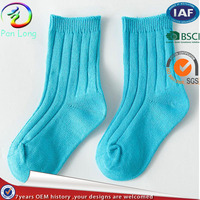 Hot selling custom high quality knee high baby sock for wholesale