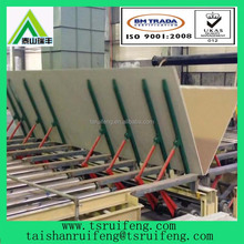 paper faced plaster board/gypsum plasterboard machine line, gypsum board machine manufacturing line