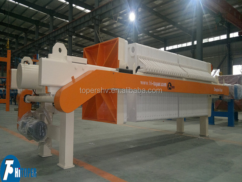 Chemical or pharmacy industry hot sale anti-corrosion stainless steel filter press