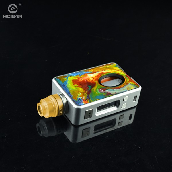 Bottom feeder mod electronic cigarette squonk box mod dna75 75W VT inbox box mod with 510 connectors