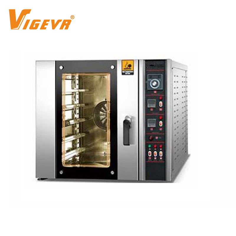 Commercial Ovens Industrial Bread Baking Oven 5 Trays Professional Bakery Electric Convection Oven Digital