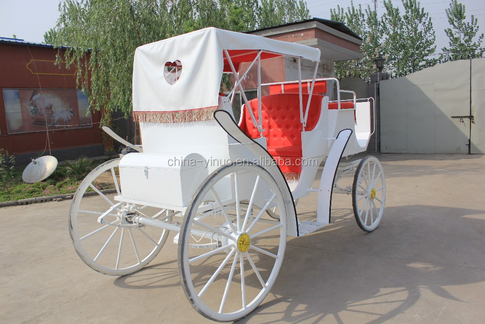 Yizhinuo sightseeing horse carriage/wedding horse wagon