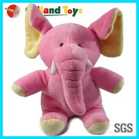 plush toy pink Elephant big ear doll