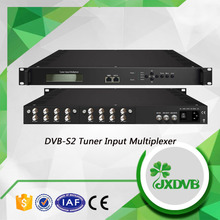 Professional DVB-S2/ATSC tuner and ASI iput to mpts TS Multiplexer
