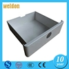 WELDON waterproof metal ip65 electrical distribution box outdoor/wall mounting metal enclosure made in yueqing factory size