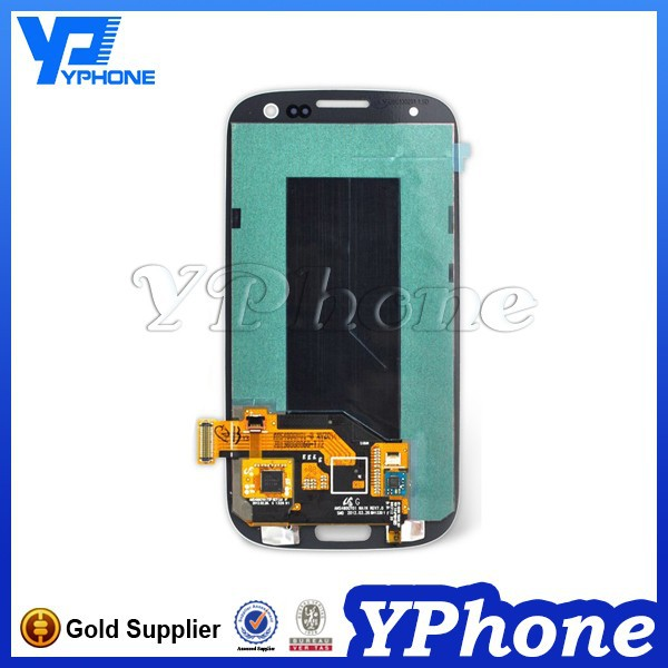 Top quality lcd touch screen for samsung galaxy s3 lcd digitizer with best motherboard