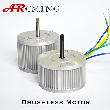brushless low rpm DC Motor