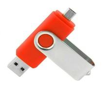 alibaba cheap supplier cell phone usb disk otg usb flash drive with custom logo & colorful