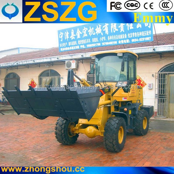 4wd wheel loader ZL28/ZL28F/ZL 28F with joystick radio 16/70-24 agricultural tire