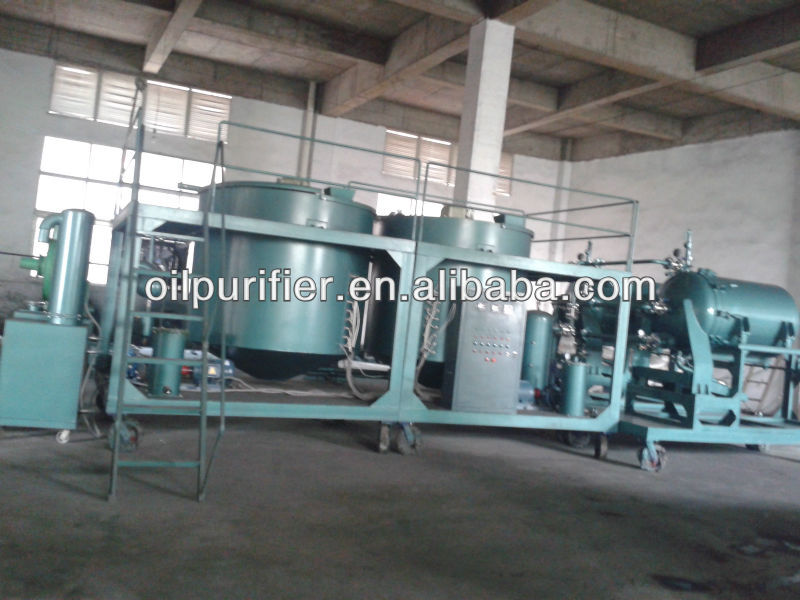 Waste Engine Oil Recycling machine, Motor Oil Regeneration machine