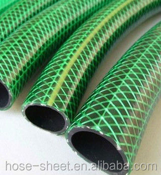 ISOFlexible fiber braided pvc garden water hose any color is available