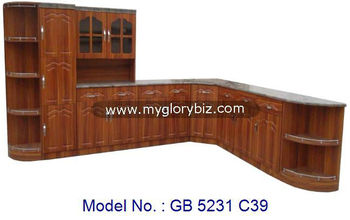 Big MDF Kitchen Set, Modern Kitchen Designs, Corner Home Kitchen Furniture