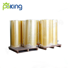 1280mm 1620mm 4000m 36mic yellowish color brown clear acrylic packing adhesive tape bopp jumbo roll