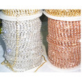 China wholesales roll rhinestone cup chain