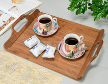 Hot selling Restaurant Home decor OEM& ODM wooden wood serving tray
