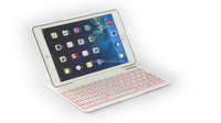 2016 Bluetooth Keyboard with Aluminum Alloy Case include power bank For iPad Air2