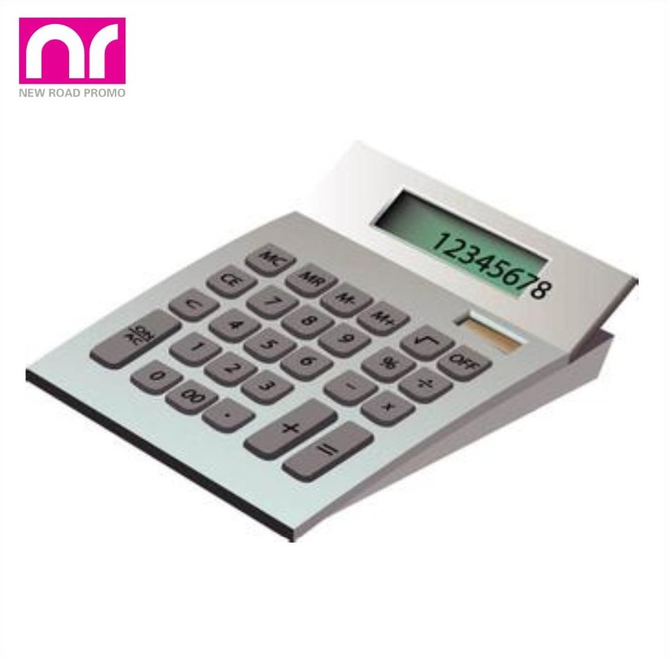 12 Digits Big Display Scientific Electronic Desktop Double Power Calculator