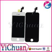 For iPhone 5s LCD Screen Digitizer Touch + Frame, Camera & Home Button, Black