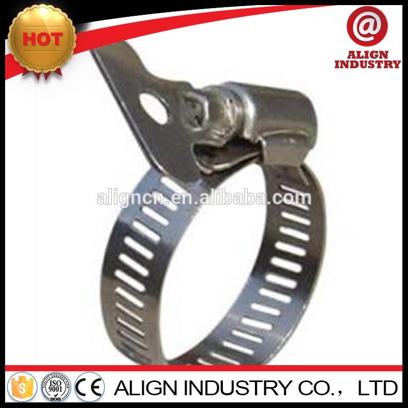 best price american type keyed hose clamps with stainless steel handle 8mm hose clamps